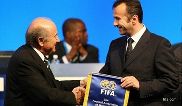 Admission of the Montenegro FA to FIFA at the 2007 Congress held in Zurich.