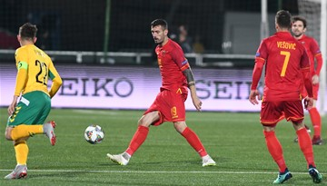 Montenegro wins comfortably against Lithuania